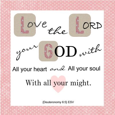 LORD I Love YOU